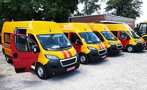 ДТЭК заказал уникальные аварийно-ремонтные фургоны на шасси PEUGEOT Boxer