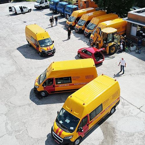 ДТЭК заказал уникальные аварийно-ремонтные фургоны на шасси PEUGEOT Boxer - PEUGEOT