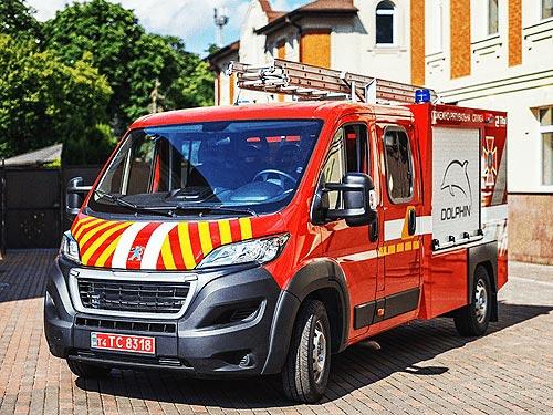 На базе PEUGEOT BOXER создали пожарные автомобили первой помощи АПП-2