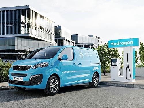 Стали известны подробности о новом серийном водородном автомобиле PEUGEOT e-EXPERT Hydrogen