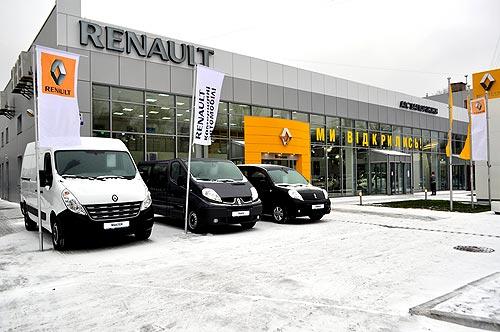Renault в Запорожье