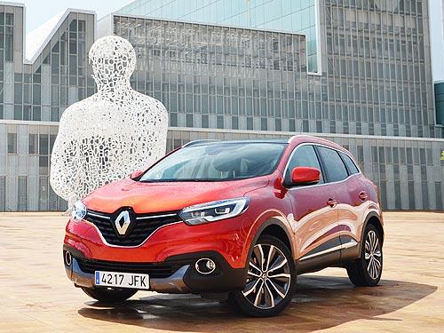 На Renault Kadjar действуют привлекательные цены - Renault