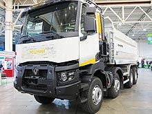 В Украине представили самосвал Renault серии K - Renault