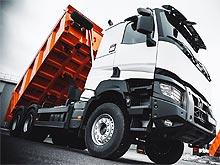 В Украину поставили 7 новых самосвалов Renault Trucks серии К
