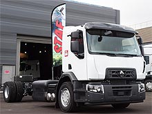 Renault Trucks представит 19-тонный грузовик серии D Wide CNG на природном газе