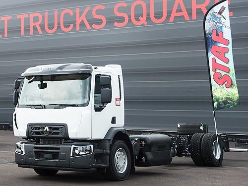 Renault Trucks представит 19-тонный грузовик серии D Wide CNG на природном газе - Renault
