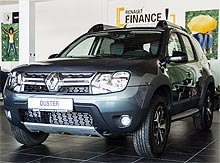 В Украине стартовали продажи лимитированной серии Renault Duster Сross - Renault