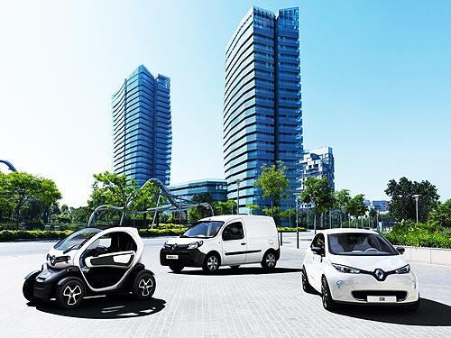 """""""Рено Украина"""" начнет официальные продажи электромобилей в трех городах Украины - Renault"""