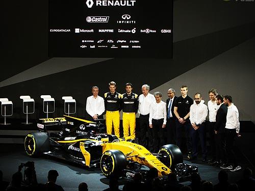 Renault представила новый болид - Renault