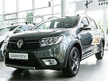 В Украине стартовали продажи лимитированной серии Renault Logan MCV Stepway Cross