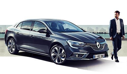 Renault Megane создал новый деловой образ CEO