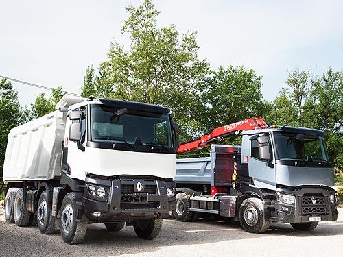 Для строительных грузовиков Renault Trucks доступна новая роботизированная КПП - Renault