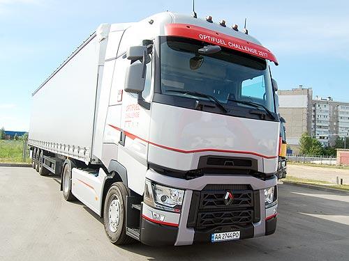 Грузовики Renault Trucks поразили своей экономичностью - Renault