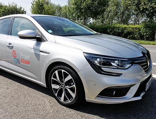 Renault создает инфраструктуру для беспилотных автомобилей