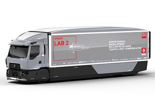 Renault Trucks представляет экспериментальный и электрический грузовики - Renault