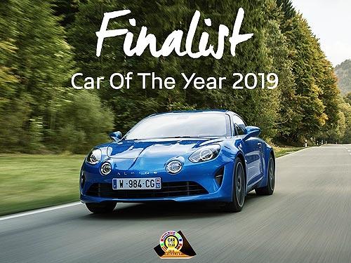 Alpine A110 стал вторым в конкурсе «Автомобиль года 2019»