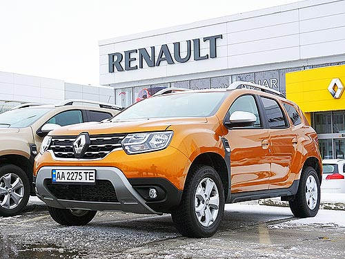 Renault Duster стал кроссовером 2019 года в Украине