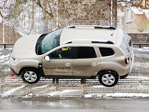 В Украине официально стартовали продажи нового Renault Duster - Renault