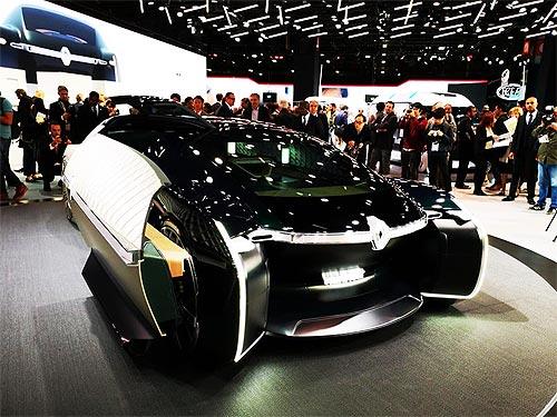 Renault представила концепт автономного электрического робомобиля EZ-ULTIMO