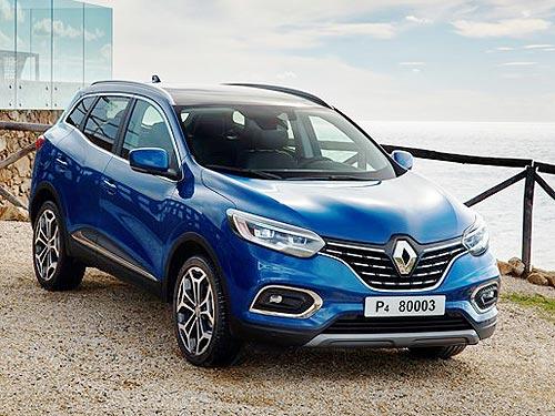 Новый Renault Kadjar доступен к заказу в Украине по новой цене