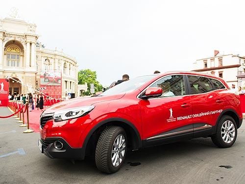 25 автомобилей Renault приняли участие в Одесском кинофестивале