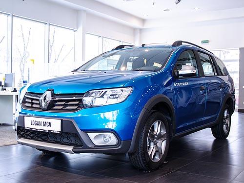 В Украине стартовали продажи спецверсии Renault Logan MCV Stepway - Renault