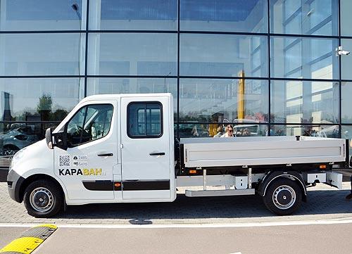 Украинский бизнес может покупать Renault Master и Renault Dokker Van с грантом 10% от ЕС - Renault