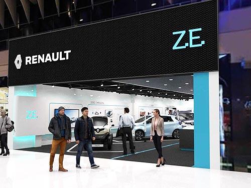 Renault откроет в Европе первый концептуальный шоурум электромобилей