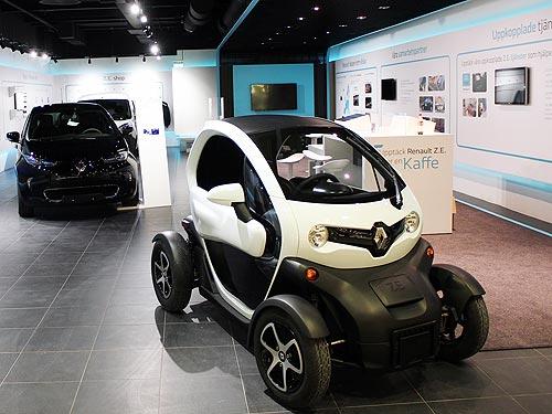 Renault откроет в Европе первый концептуальный шоурум электромобилей - Renault
