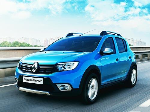 В июне Renault Sandero Stepway стал самым доступным кроссоверов на рынке - Renault