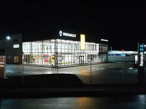 В Украине открылся первый Renault Store