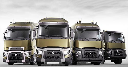 В Украине проходит презентация модельного ряда обновленных грузовиков Renault Trucks Caravan Days - Renault