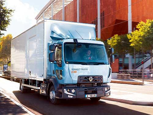 Renault Trucks представляет новые грузовики серии D 2019 года