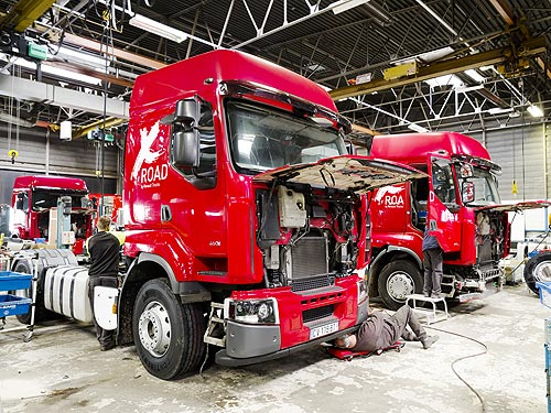 Грузовики Renault с пробегом из Европы теперь доступны онлайн - Renault Trucks