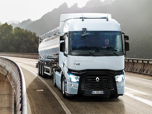 Renault Trucks представляет обновленные грузовики серии T 2019 года