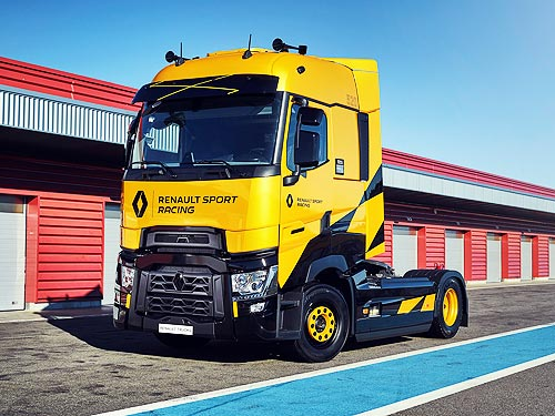 Renault Trucks представила лимитированную серию грузовиков T High Renault Sport Racing