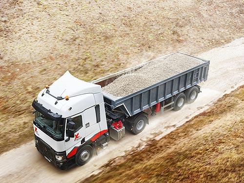 Renault Trucks выпустила переоборудованные грузовики T X-Road 460 для строительства - Renault