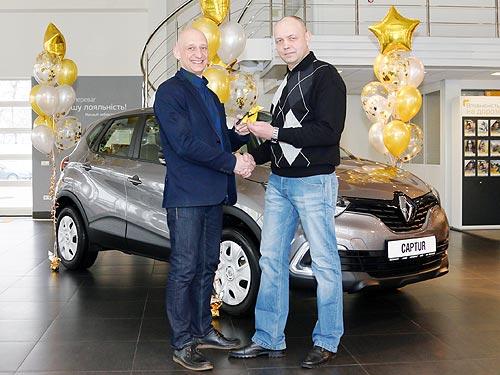 Победитель конкурса «Автомобиль Года в Украине 2018» получил новый Renault Captur - Renault