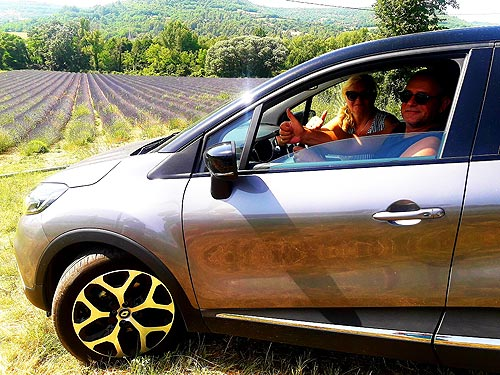 Победитель акции от Renault посетил Прованс