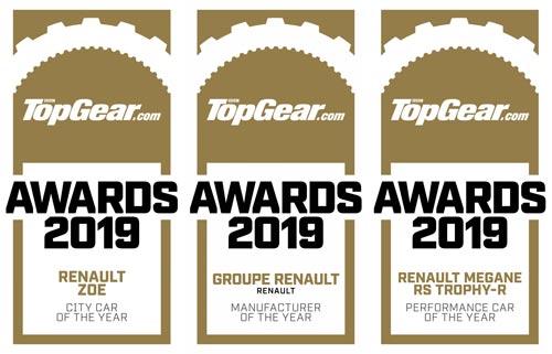 Группу Renault назвали «Производителем года»