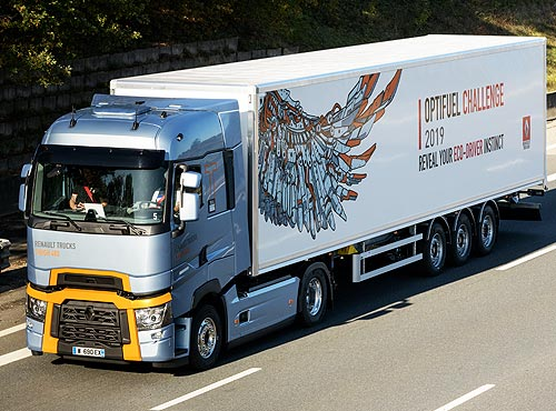 Optifuel Challenge 2019: грузовики Renault Trucks снова поразили экономичностью