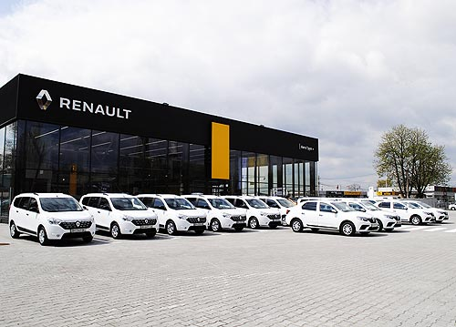 В Одессе открылся Renault Store