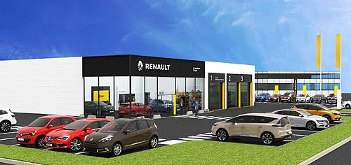 Renault объявляет тендер на дилерство в Одесской области