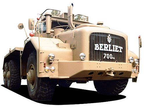 Renault Trucks покажет крупнейший в мире грузовик Berliet T100
