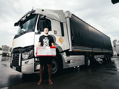 В Украине определили самого экономичного водителя грузовика