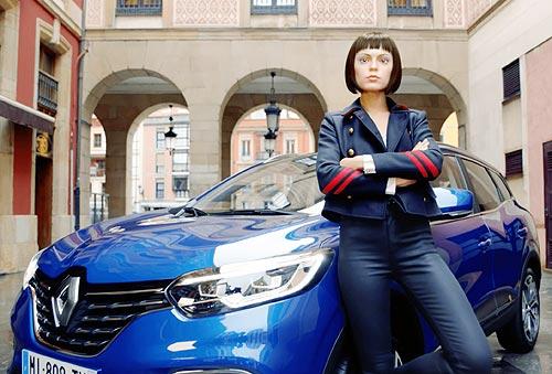 Продвигать новый Renault Kadjar в Украине впервые будет виртуальный персонаж