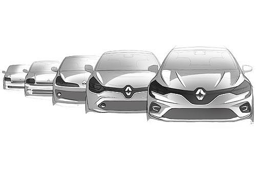 Renault Clio отмечает 30-летний юбилей