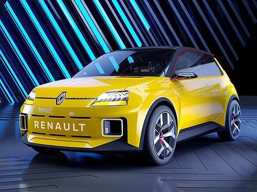 Renault 5 Prototype стал концепт-каром года