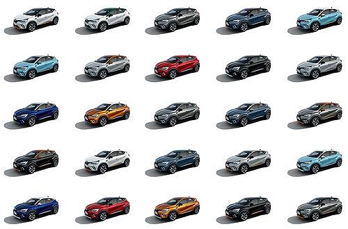 Renault раскрашивает мир. Почему Renault выпускает больше цветных автомобилей - Renault