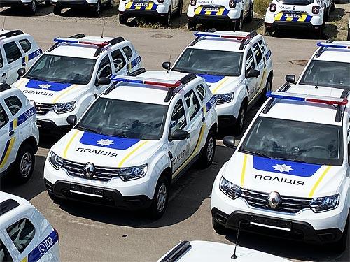 Национальная полиция закупила крупную партию Renault Duster